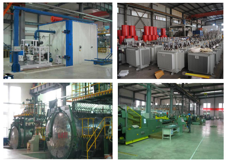 Production process of S9 Type 10kv Series Sealed Tank Distribution Transformer